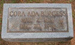 Cora Ada Burgess