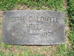 Edith <i>Caldwell</i> Hill