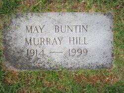 May Winston <i>Buntin (Murray)</i> Hill