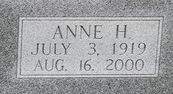 Anne <i>Haynes</i> Acey