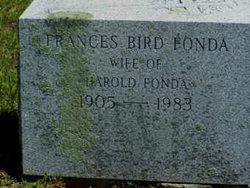 Frances E. <i>Bird</i> Fonda