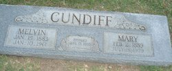 Mary Angeline <i>Daugherty</i> Cundiff