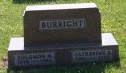 Solomon M Burright