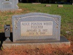 Alice Ponton <i>White</i> Fulcher