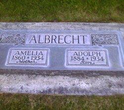 Amelia Emilie <i>Zetlow</i> Albrecht