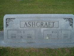 Mabel E <i>Goggins</i> Ashcraft