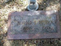 Harold Francis DeRick