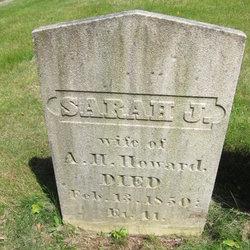 Sarah J Howard