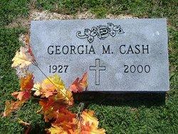 Georgia M <i>Winn</i> Cash