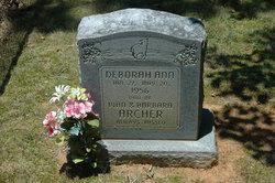 Deborah Ann Archer