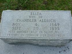 Eliza A <i>Clinton</i> Aldrich