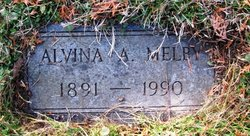 Alvina Alice Vina <i>Petersen</i> Melby