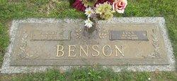 Eva <i>Simmons</i> Benson