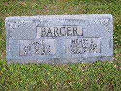Janie <i>Bynum</i> Barger