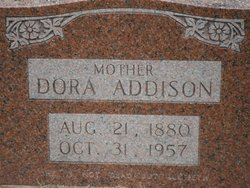 Dora Lou <i>Wood</i> Addison