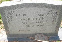 Carrie Elizabeth Yarbrough