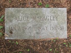 Alice M Bagley