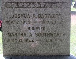 Martha Ann <i>Southworth</i> Bartlett
