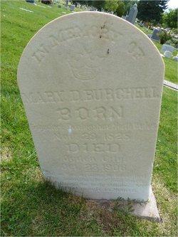 Mary <i>Davis</i> Burchell