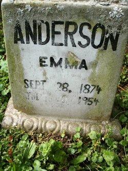 Emma <i>Rogers</i> Anderson
