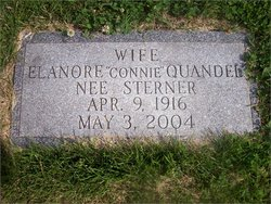 Elanore Comfort Connie <i>Sterner</i> Quandel