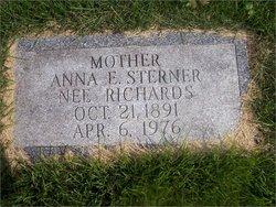 Anna E. <i>Richards</i> Sterner