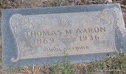 Thomas M Aaron