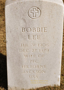 Bobbie Lee Jackson