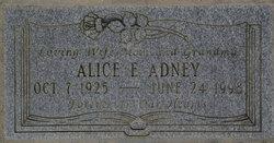 Mrs Alice E. <i>Bergier</i> Adney