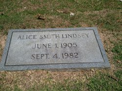 Alice Smith Lindsey