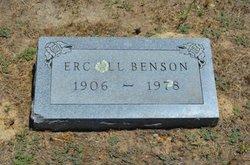 Ercell <i>James</i> Benson