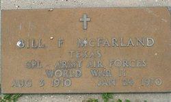Corp Bill F. McFarland