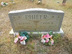 Martha J <i>Rose</i> Phifer