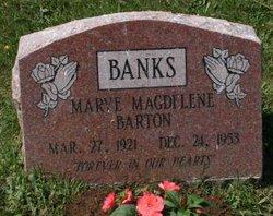 Mary Magdelene <i>Barton</i> Banks