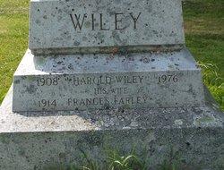 Frances <i>Farley</i> Wiley