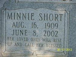 Minnie Adaline <i>Short</i> Bumgarner