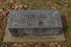 Elizabeth Lizzie <i>Cline</i> Howard