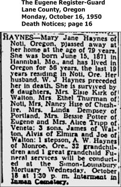Mary Jane Haynes
