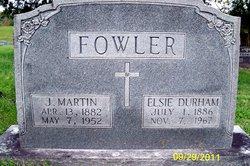 Joseph Martin Fowler