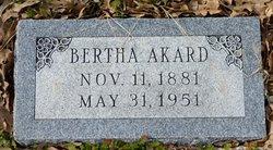 Bertha Estella Akard