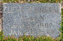 Cliffie Woodhouse Allen