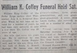 William King Coffey