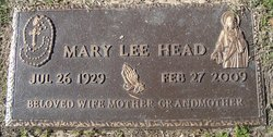 Mary Lee Head