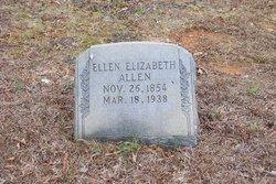 Ellen Elizabeth <i>Curlee</i> Allen