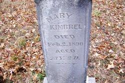 Mary Polly <i>Wood May</i> Kimbrel