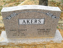 Norma Mae <i>Patterson</i> Akers