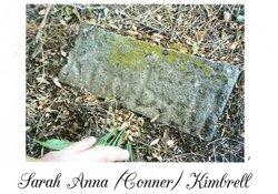 Sarah Anna <i>Conner</i> Kimbrell