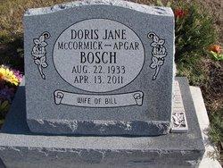 Doris Jane <i>McCormick</i> Bosch