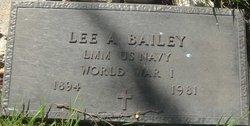 Lee Albert Bailey