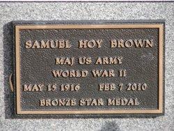 Samuel Hoy Brown, IV